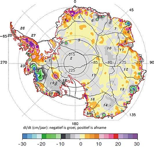 antarctic ice 2011