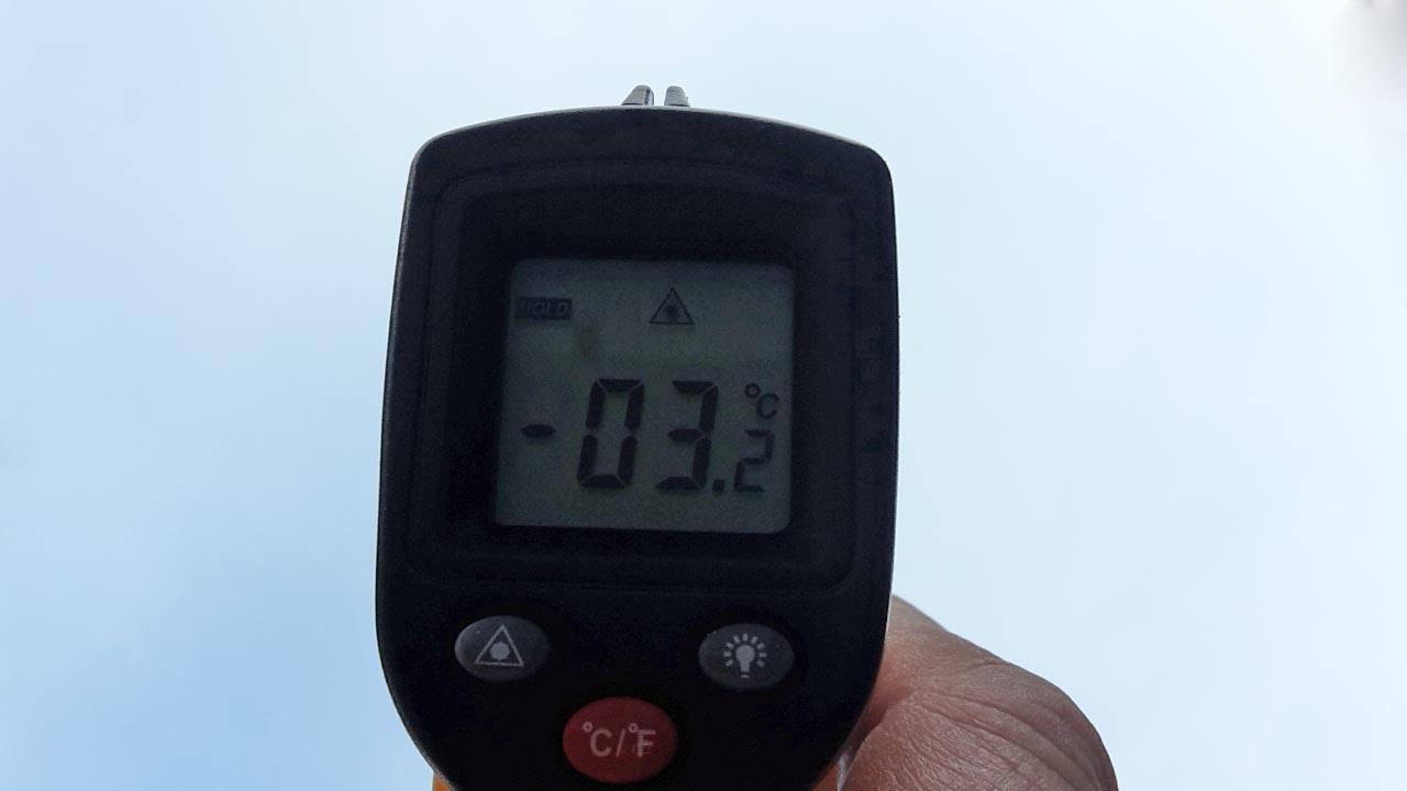 Temperatuur in huis meten
