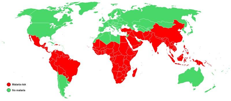 malariaspreiding