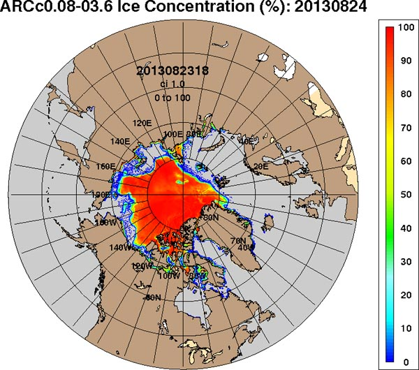 ijsconcentratie arc 8 13